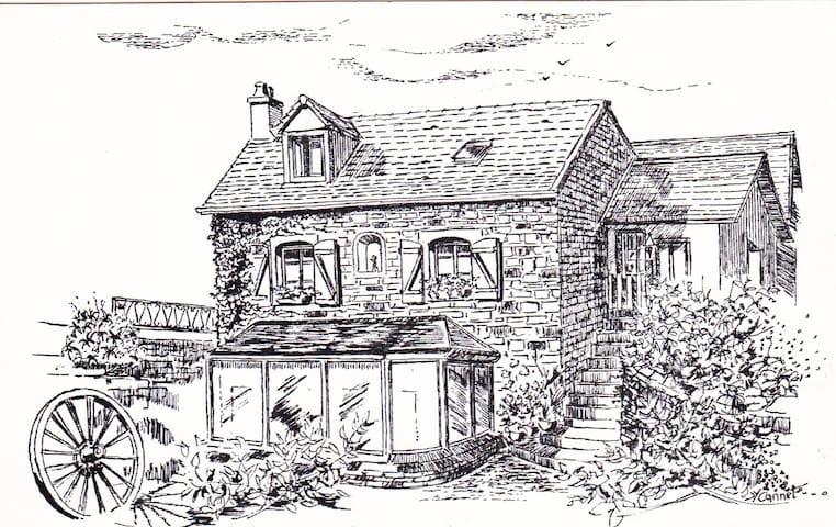 Le Lodge de Rimont - Fley - Casa