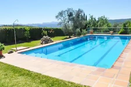 Appartement avec piscine et jardin - Arriate
