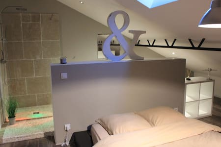 Chambre LOFT & salle de bain - Billy-Montigny - Loft