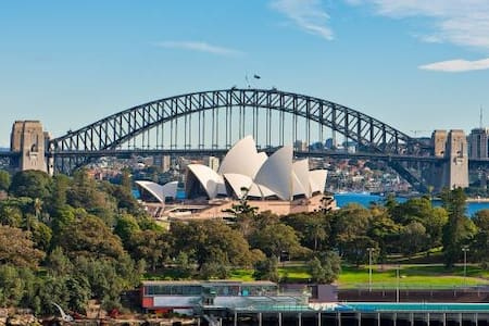 Sensational Sydney Opera House/Harbour Bridge view - Potts Point - Apartment