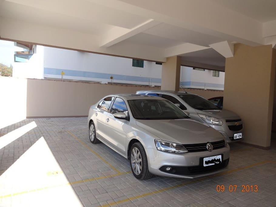 Garagem para 1 veículo