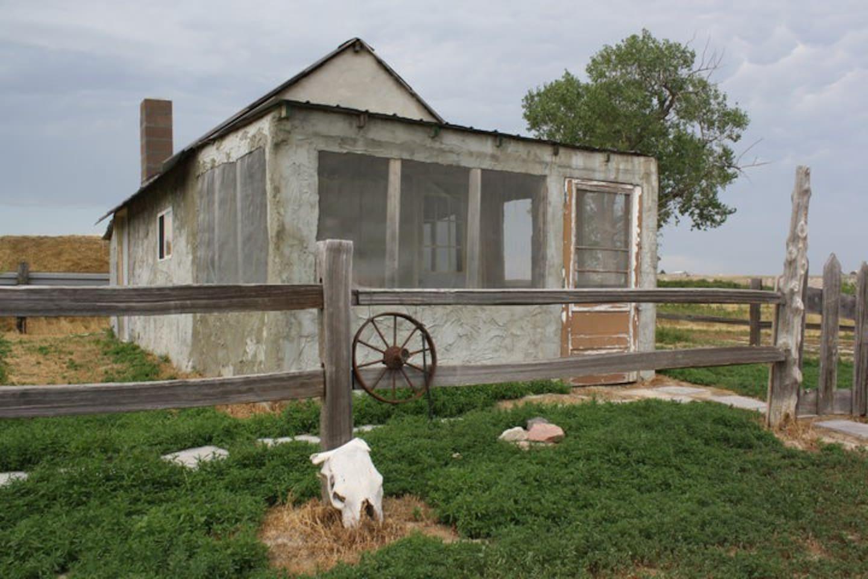 1880 Original Homestead Cabin.