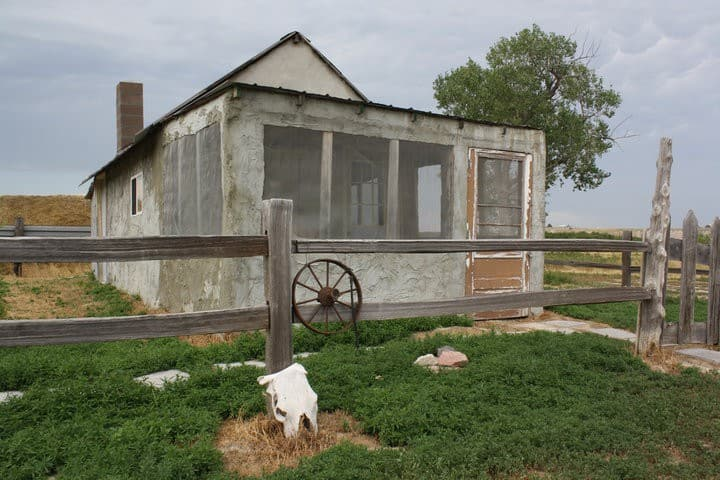 Badlands 1880 Homestead Cabin