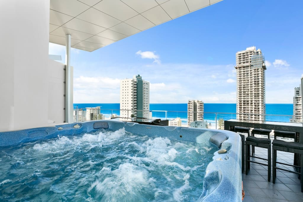 Surfers paradise wings penthouse dream 1 apartments 2 bedroom apartments gold coast for rent