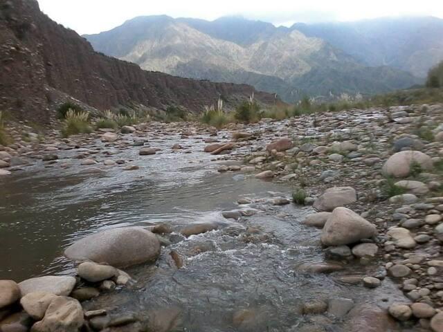 Cabañas Altos del Nopal Cacheuta. A metros del rio - Luján de Cuyo - Houten huisje
