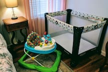 Pack & Play and Walker Available