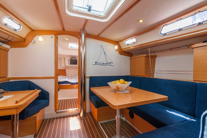 Cabin in a Sail Boat Left Room