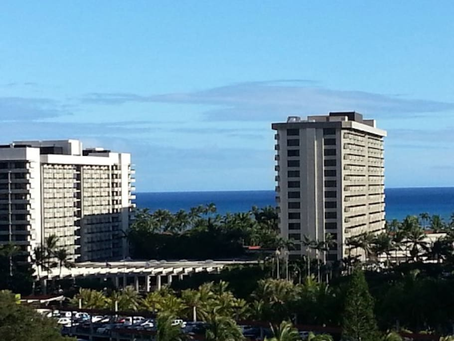 Ocean View from the Lanai...