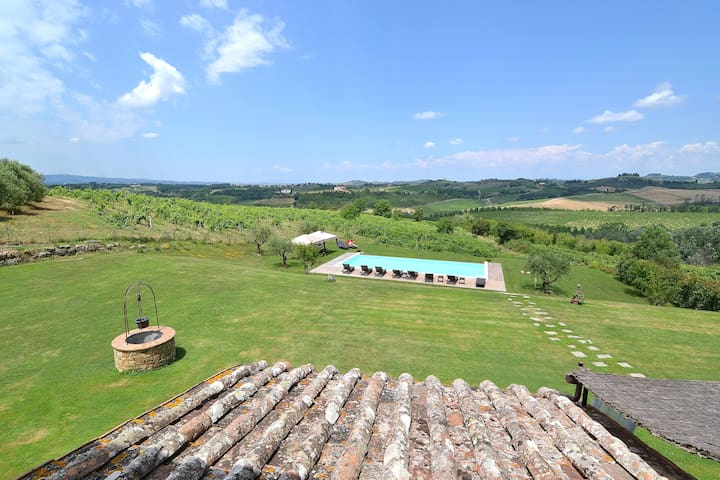 Panoramic Villa with Infinity Pool Florence Siena