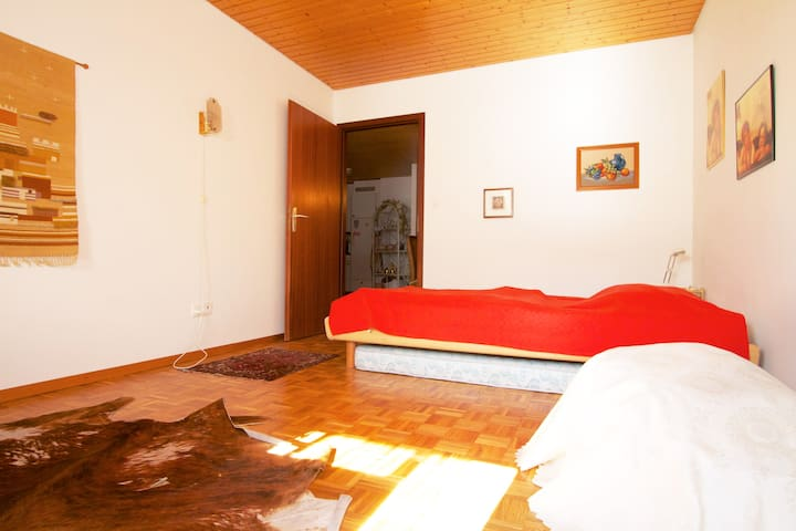 Spacious room - private bathroom - Rennaz - Apartamento
