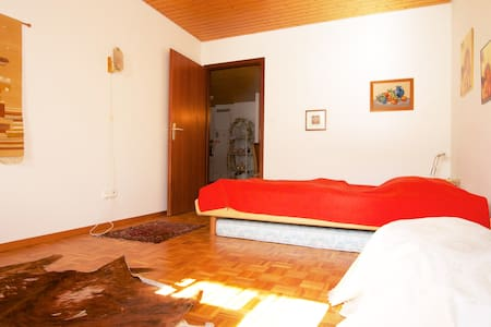 Spacious room - private bathroom - Rennaz - Departamento