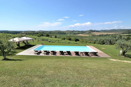 Exclusive Villa bw Florence & Siena panoramic Pool - เซอร์ตัลโด