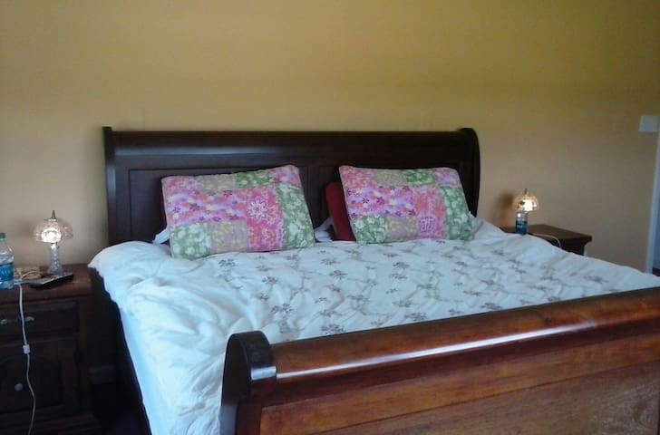 King Room with private bath - Madison Heights - Casa