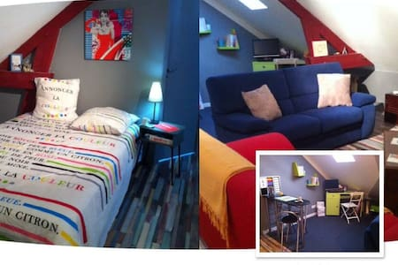 LE STUDIO Bed & Breakfast - Joué-lès-Tours - Bed & Breakfast