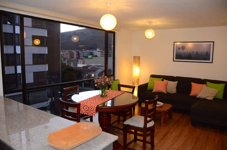 Awesome, spacious apartment La Floresta, Quito - Quito - Pis
