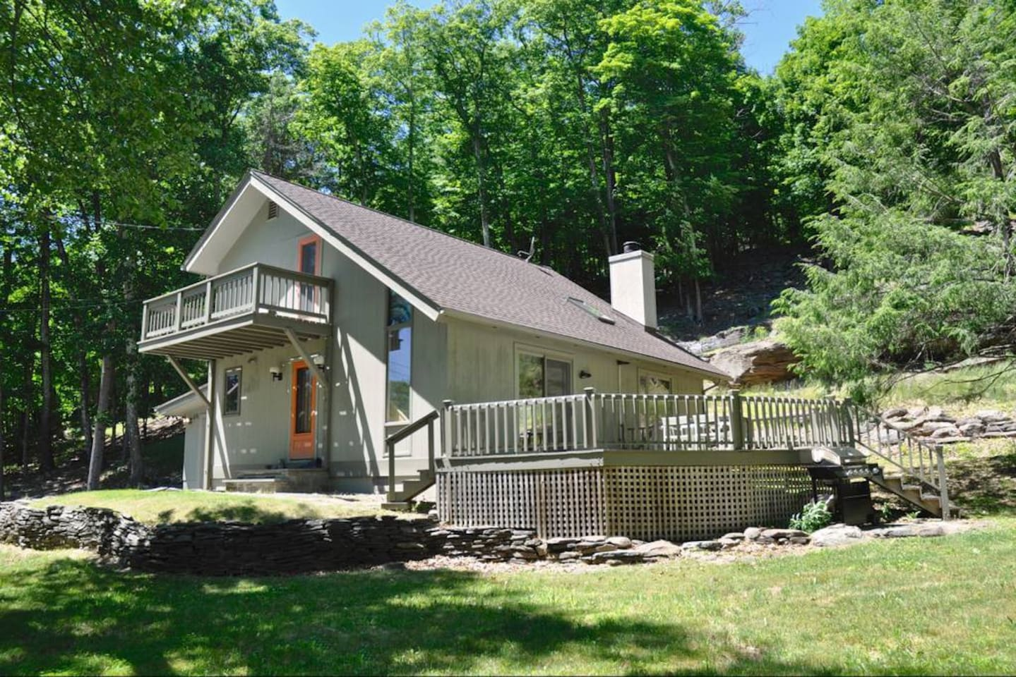 New Listing! Grey Chalet Woodstock