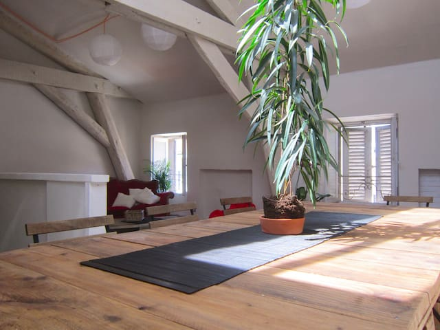Appartement-Loft, Intra-Muros, 3 chambres, 3 SdB