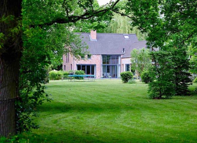 Luxueus gastenverblijf in het groen