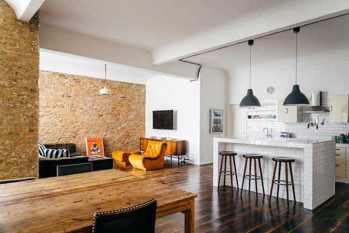 Luxury Loft Paul-Lincke-Ufer - Berlin - Apartemen