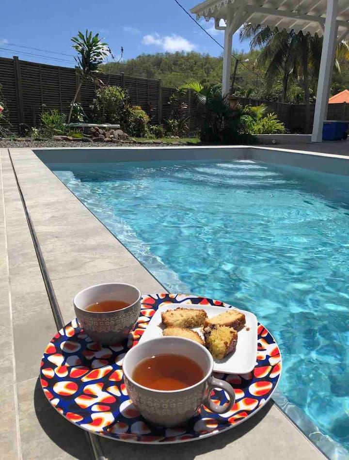 Villa Girembelle avec piscine