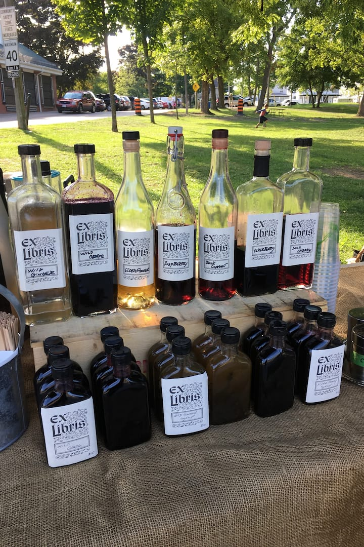 Seasonal Wild craft Cocktail Syrups