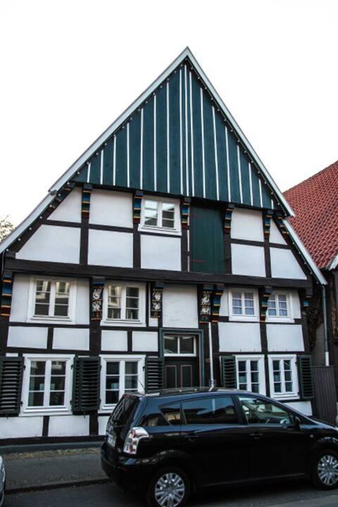 Wohnung im ältesten Fachwerkhaus Wiedenbrücks