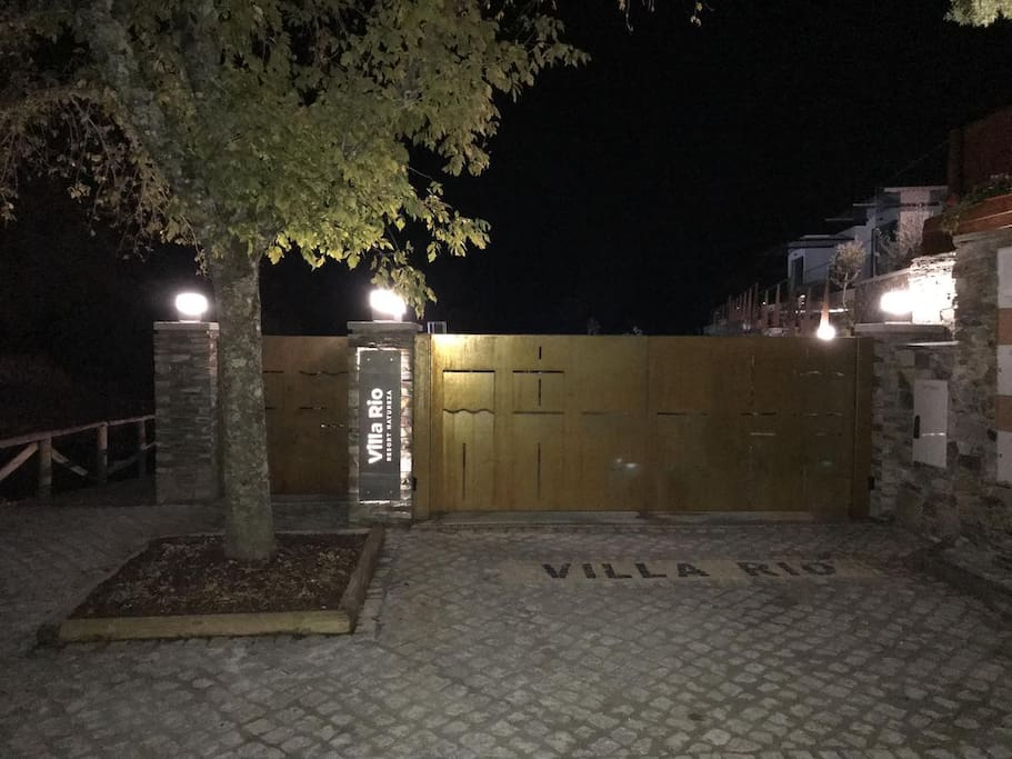 A nossa entrada