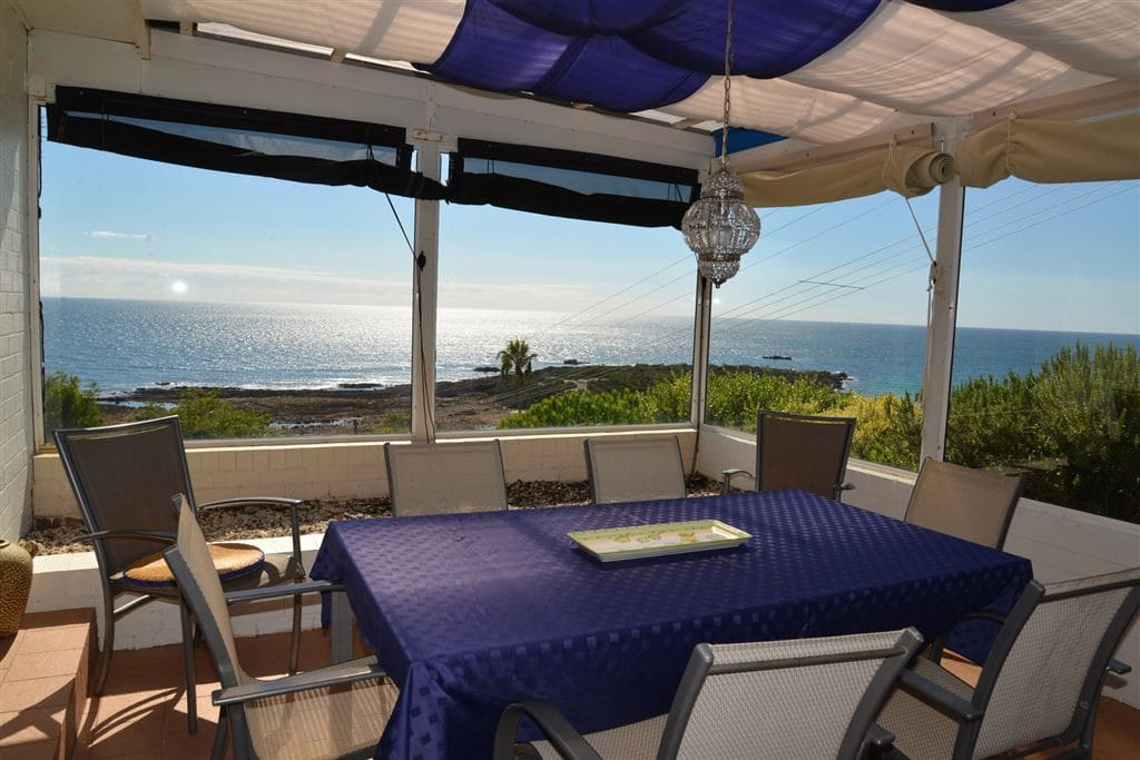 A perfect place for meals and to watch the sunrise over the ocean