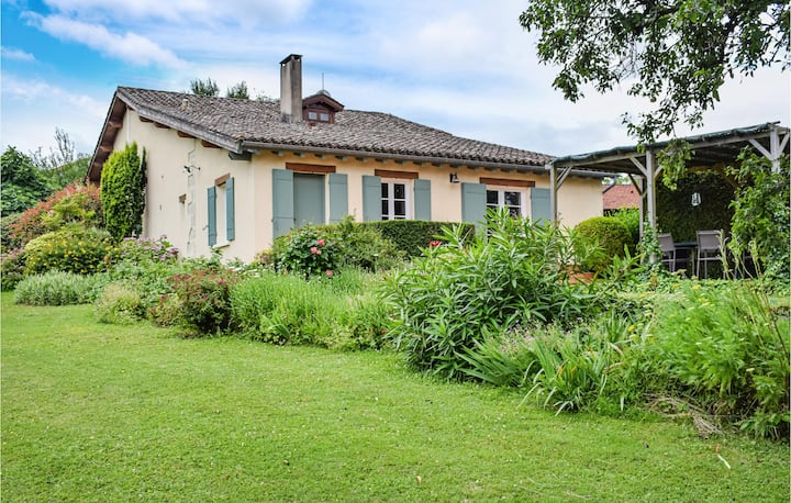 Awesome home in Bourgougnague with WiFi and 4 Bedrooms