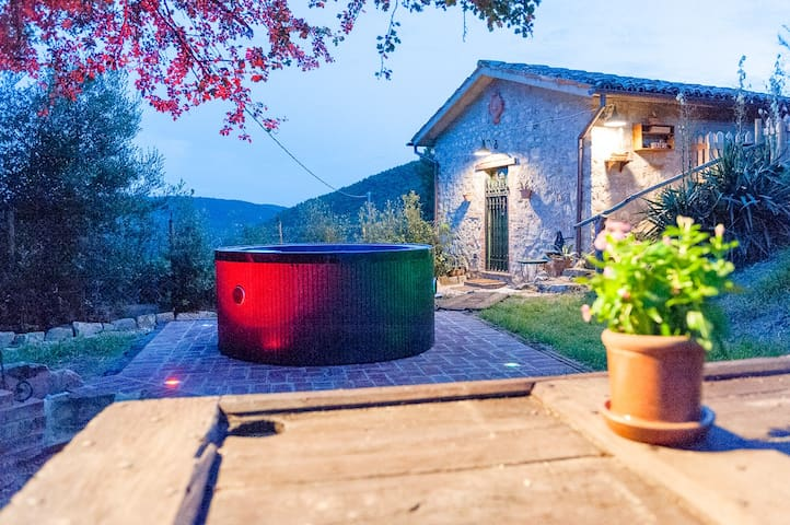 La Limonaia, villa with jacuzzi
