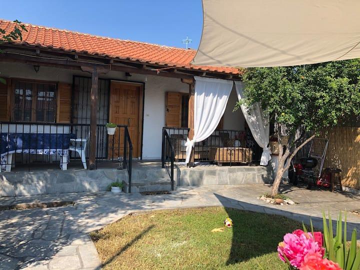 Small peaceful  house nea plagia