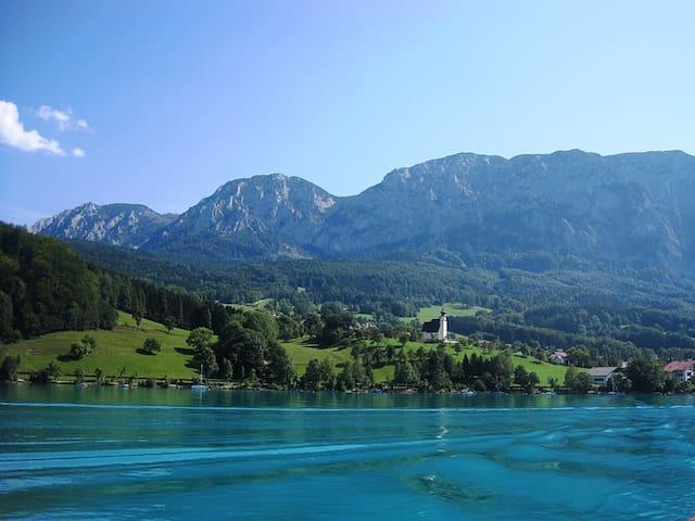 Bauernhaus mit Berg- und Seeblick - Kaisigen