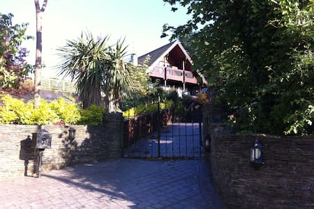 Cosy Log Cabin In Tranquil Setting - Enniscorthy - Rumah