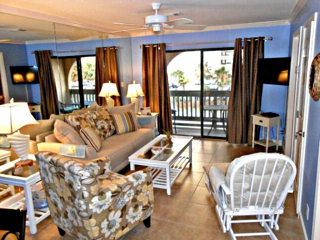 LAS PALMAS 216 ACROSS ST FROM BEACH WITH GULF VIEW - Gulf Shores - Kondominium