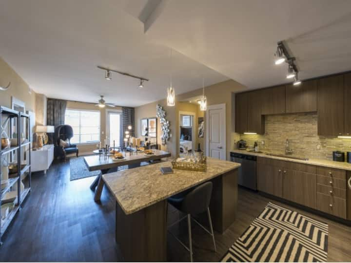 Live + Work + Stay + Easy   1BR in Dallas