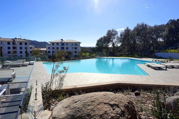 Apartment 124 Domaine d'Arca swimming-pool