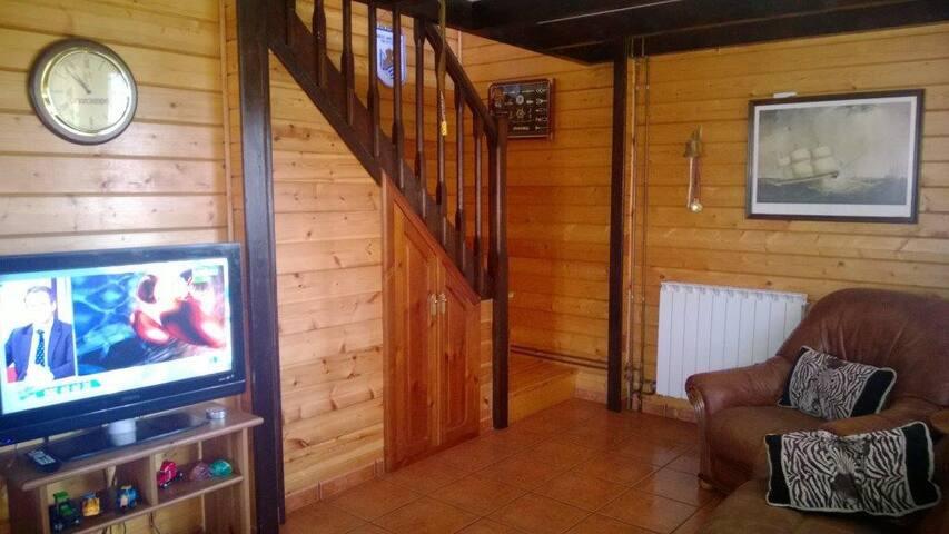 Casa de Madera Complejo Residencial Irache