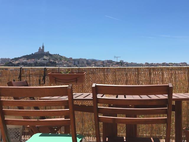 Bonbon à Marseille - Marselha - Apartamento