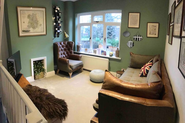 Classic British home near the river