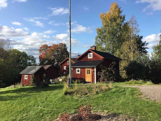 Selmas hattstuga, 2km från Mårbacka