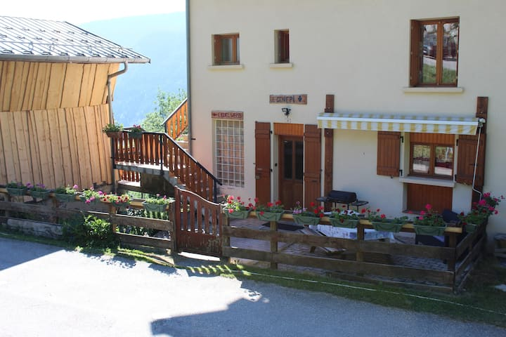 Village typique Savoie Gîte de France (GENEPI)