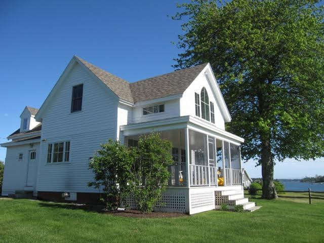 Seaside  Cottage with Dock - Boothbay - Haus