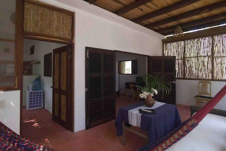Comfort and privacy 200 meters from zipolite beach