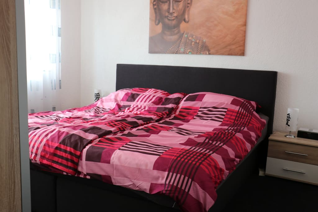 Cosy Bedroom with Boxspringbed