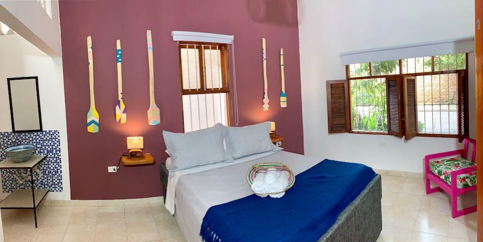 """Paddle"" Room in Casa Pedregal"