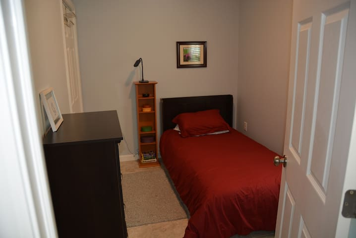 Second bedroom with same amenities as the first.
