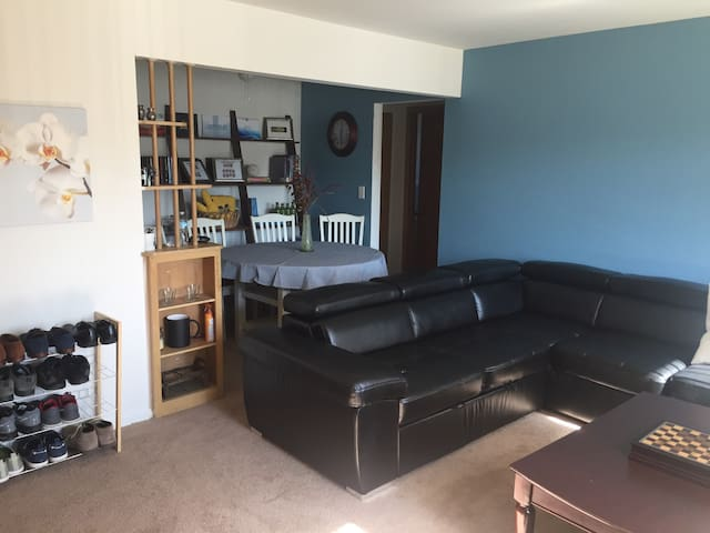 0.3 mi apartment from UofM hospital - Ann Arbor - Apartament