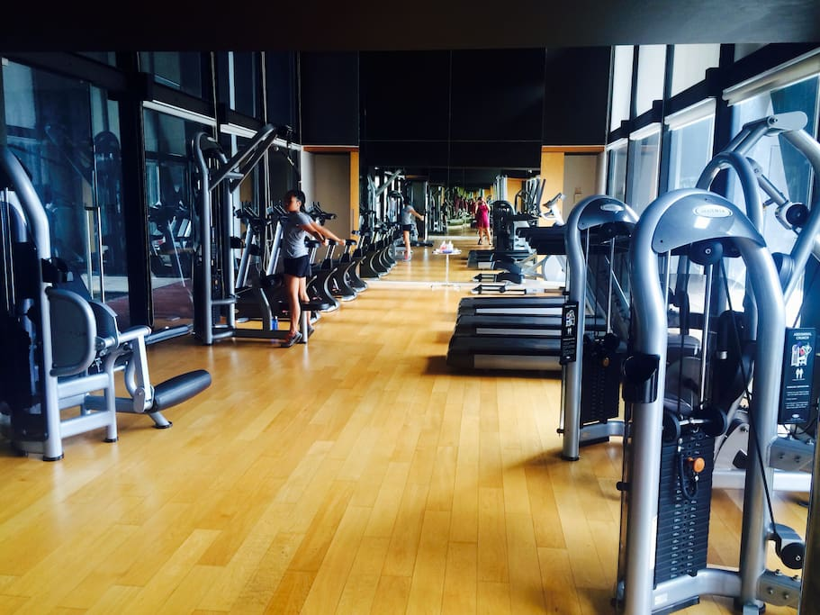 Fully equipped gym available all day till 10 pm