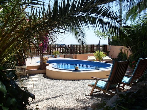 Fabulous 3 bedroom Cave House with private pool
