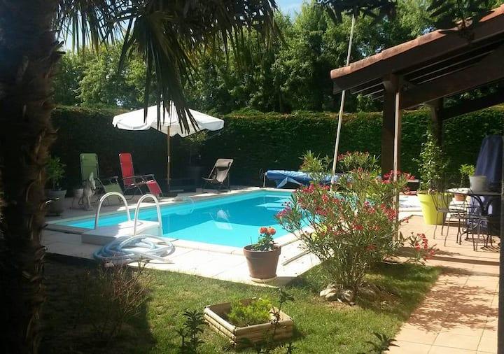 Villa piscine privée près de Toulouse